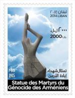 Lebanon 2014 MNH - Statute Of The Martyrs Of The Armenian Genocide - Armenia - Lebanon