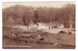 AK GB Logger Herds Inn. Near Mold Ges. 22.10.1908 Echte Foto - Royaume-Uni