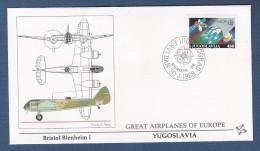 JUGOSLAVIA - 1988 - 2 Valori Emissione EUROPA Su 2 Buste FDC Fleetwood - In Ottime Condizioni. - FDC
