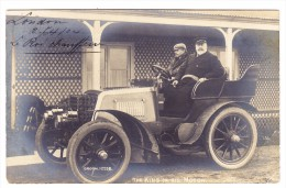 AK GB London King In His Motor Le Roi Chauffeur Oldtimer Ges. 4.1904 Foto Broom#1229B - Non Classés