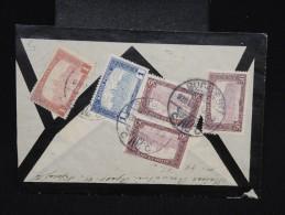 HONGRIE - Enveloppe ( Retaillée ) En Recommandée De Budapest  Pour Wien - Aff. Au Verso - à Voir  - Lot P9079 - Marcophilie