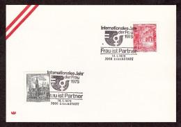 Int. Jahr Der Frau 1975 - Gestempelt 7000  Eisenstadt  Am 14.1.1975 - Machine Stamps (ATM)