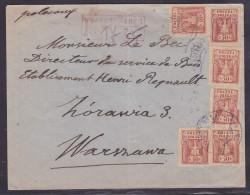 Pologne - Lettre - Poststempel - Freistempel
