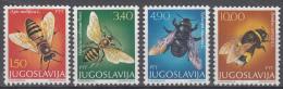 Joegoslavië - Bienen/Bijen/Bees - MH - M 1728-1731 - Abeilles