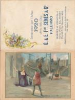 PALERMO 1920 - Calendario Pubblicitario /  G.& E. Flli Sénès & C. - Formato Piccolo : 1901-20