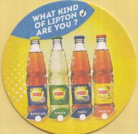 Lipton - What Kind Of Lipton Are You/Refreshing Things To Remember - Ongebruikt Exemplaar - Bierviltjes