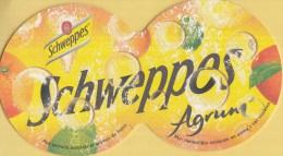 Schweppes - Schweppes Agrum - Indian Tonic - Ongebruikt Exemplaar - Bierviltjes