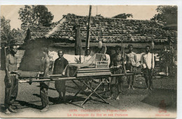 CAMBODGE(PHNOM PENH) TYPE PORTEUR(PALANQUIN) - Kambodscha