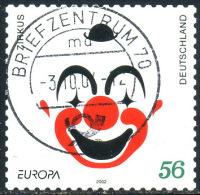 GERMANY 2002 - Selfsticker Set Used - [7] République Fédérale