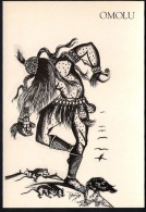 # 4. OMOLU, ORIXA ESOTERIC BRAZIL PRINT Art Print Stampa Gravure Druck Brasil Bresil Brazilien Religion - Religion &  Esoterik