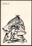 # 5. OXALA, ORIXA ESOTERIC BRAZIL PRINT Art Print Stampa Gravure Druck Brasil Bresil Brazilien Religion - Religion &  Esoterik