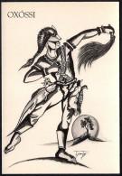 # 6. OXOSSI, ORIXA ESOTERIC BRAZIL PRINT Art Print Stampa Gravure Druck Brasil Bresil Brazilien Religion - Religion &  Esoterik