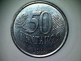 Brésil 50 Centavos 1994 - Brésil