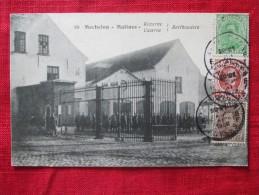 MALINES MECHELEN (belgique) Caserne Berthouders Kazerne Rare Timbrée 1922 - Machelen