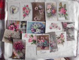 LOT DE 15 Cartes ...cpa ..fantaisies ...BONNE FETE ... - Cartes Postales