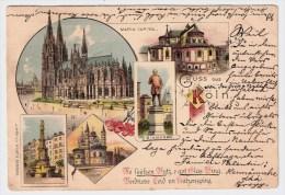 "NRW, "" Gruss Aus Köln ""  , #3344 - Köln"