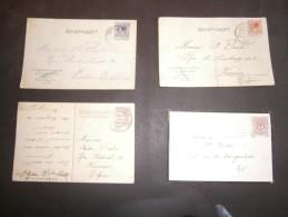 3 Cartes Postales Adressées à André DENTER à Verviers Rue De Limbourg Et Rue De Sécheval - 1928/1929 - Manuscrits