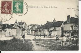 Carte Postale : Dannemoine - La Place De La Mare - Autres Communes