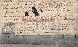 69 - LYON - Aviation -Paulhan En Plein Vol - Biplan Farman  - 1910 - 2 Scans - Autres