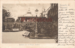 EQUATEUR  - Recuerdo De GUAYAQUIL - Quiosco En El Parque Bolivar - Dos Précurseur - 2 Scans - Ecuador