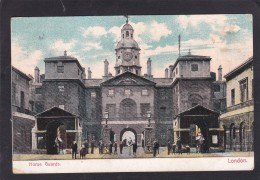 Old Card Of Horse Guards,London,Posted With Stamp,J10. - London