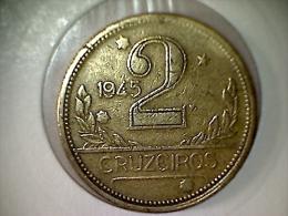 Brésil 2 Cruzeiros 1945 - Brasil