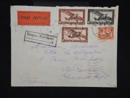 FRANCE - INDOCHINE - Enveloppe De Hanoi Pour La Rochelle En 1934 - à Voir - Lot P9106 - Indochine (1889-1945)