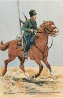 ARMEE RUSSE - RUSSIE -COSAQUE DU TRANSBAÏKAL - REGIMENT De VERKNIEOUDINSK -1914- ILLUSTR; ROBIQUET - CPA TB - Russia