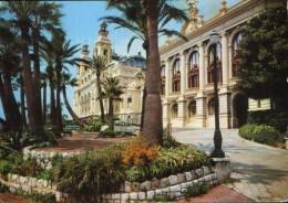 Monaco - Carte Postale Circulee En 1972 -  Monte Carlo - Le Casino  -  2/scans - Monte-Carlo