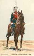 ARMEE RUSSE - RUSSIE - DRAGONS DE LA GARDE IMPERIALE -1914- ILLUSTR; ROBIQUET - CPA TB - Russia