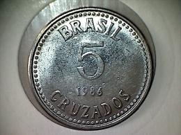 Brésil 5 Cruzados 1986 - Brasil