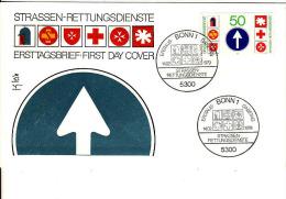Deutschland-Ersttagbrief, FDC 14.2.1979,Mi 1004, Strassen Rettungsdienste - FDC: Covers