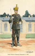 ARMEE RUSSE - RUSSIE - ECOLE MILITAIRE D'INFANTERIE ALEXANDRE II -1914- ILLUSTR; ROBIQUET - CPA TB - Russia