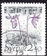 SUEDE 1989 - YT 1549 - Orchidee Calypso - Oblitéré - Suède