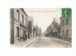 CPA 76 BOLBEC La Rue P. Fauquet Lemaitre - Bolbec