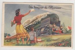 Marcour (un Bonjour De - Avec Train Et Petites Vues) - Rendeux