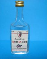 Mignonnette  (( Eau De Vie  Poire William )) - Miniatures