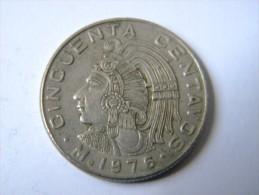 MEXIQUE - 50 CENTAVOS 1976. - Mexico
