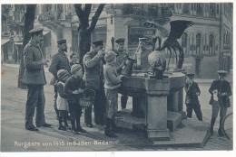 BADEN BADEN - Kurgäste Von 1915 - Baden-Baden