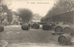 ENTREPOT DE BERCY. INONDATIONS 1910 - District 12
