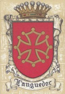Histoire - Blasons Ecussons - Languedoc - Illustrateur Barré Dayez 1295 K - Histoire