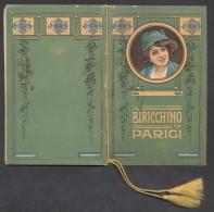 7382-CALENDARIETTO DEL 1915 - IL BIRICCHINO DI PARIGI - Formato Piccolo : 1901-20