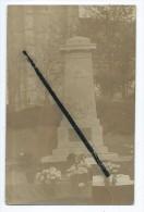 Carte Photo - Monument De Fienvillers - Francia