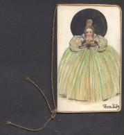 7384-CALENDARIETTO DEL 1920 - COPERTINA ACQUERELLATA - Formato Piccolo : 1901-20