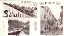 Oulx Torino  Saluti Multivedute Anno 1906 - Unclassified