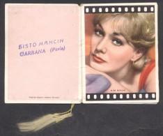 7386-CALENDARIETTO DEL 1967 - LE DIVE - ATTRICI FAMOSE - CINEMA - Calendari