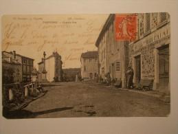 Carte Postale - JARNOSSE (42) - Grande Rue - Hôtel Du Midi - PATAY (27/120) - Altri Comuni