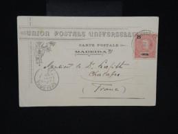 PORTUGAL - FUNCHAL - Carte Postale De Madeire En 1902 Pour La France  - à Voir - Lot P9139 - Funchal