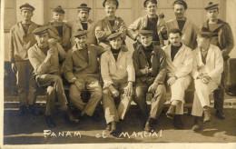 CPA (83)   TOULON     Panam Et Martial Ecole D Electricien (carte Photo) - Toulon
