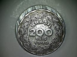 Brésil 200 Reis 1940 - Brasil